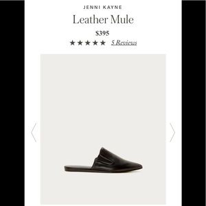 Jenni Kayne leather mules